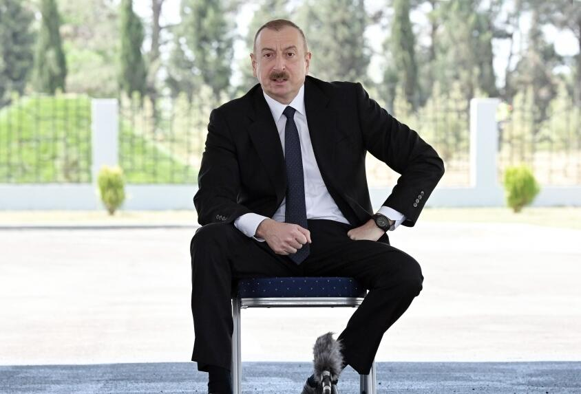 How can you blame Turkey ?! - Ilham Aliyev