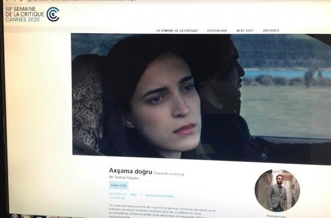 """Hacıyevin filmi Kannda: amma 59-cu """"Tənqid həftəsində"""""""