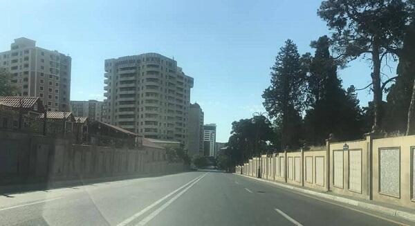 Баку после введенных жестких ограничений - Фото
