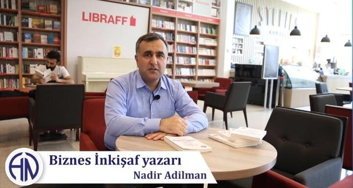 Nadir Adilmanın yeni kitabı işıq üzü gördü - Video