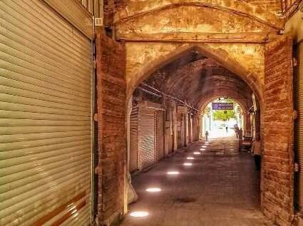 """دروازه خیابان"""" خیابان قاپیسی"""" تبریز"""