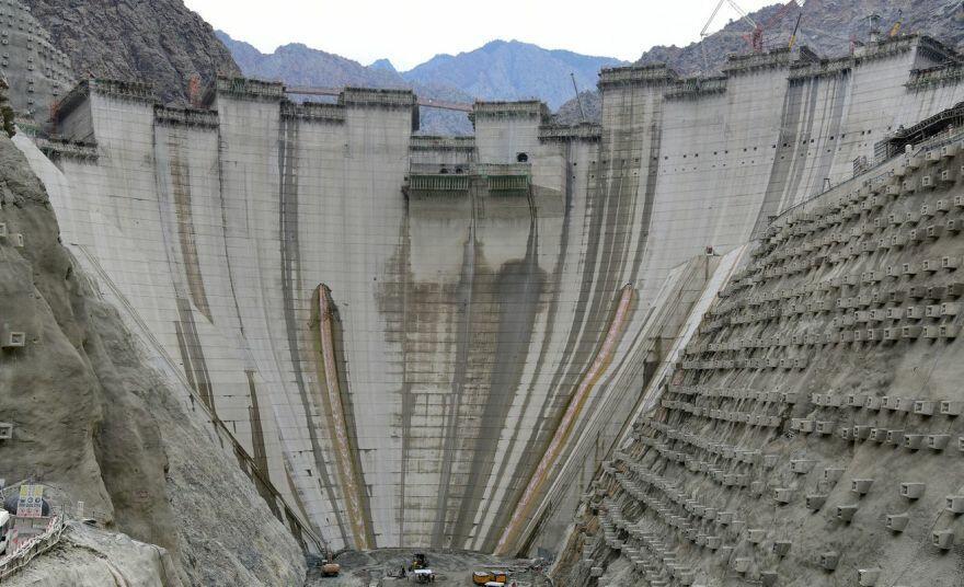 Türkiyədə 275 metr hündürlüyü olan su anbarı inşa edilir
