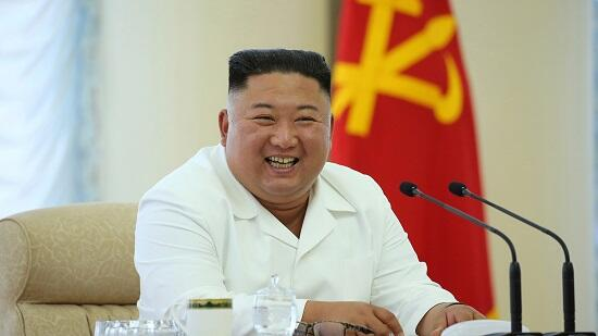 Kim Jong Un was greeted like this in Pyongyang -