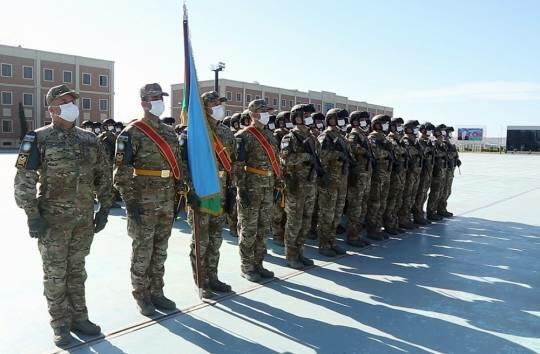 Azerbaijani peacekeepers returned from Afghanistan