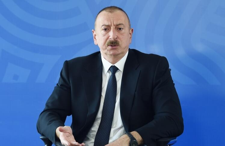 If we start the Karabakh talks... - President