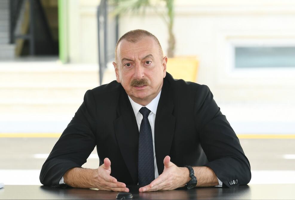 Müasir erməni dövlətinin ideologiyası... - Prezident