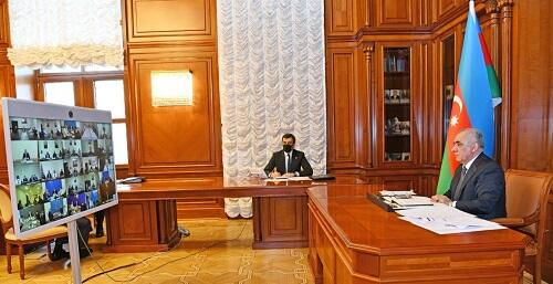 Prime Minister held a video conference on the coronavirus