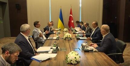 Türkiyə ilə Ukrayna arasında kritik görüş... - Foto