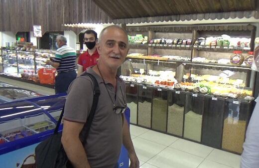 Polis iri supermarketlərdə reydlər keçirir - Foto