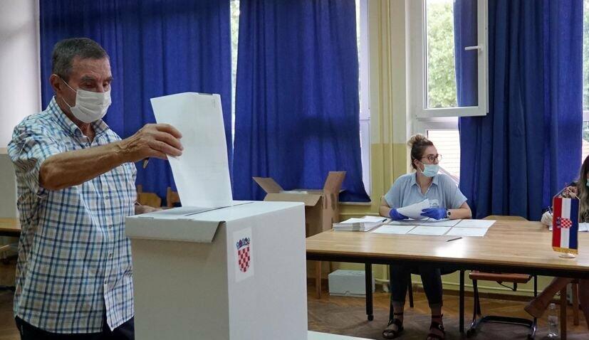 Xorvatiyada parlament seçkisi: İlkin nəticələr...