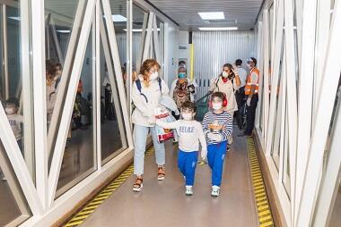 186 nəfər Dubaydan Bakıya gətirildi - Foto