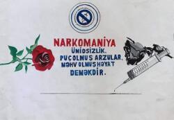"""Narkomaniyaya son!""... - Foto"