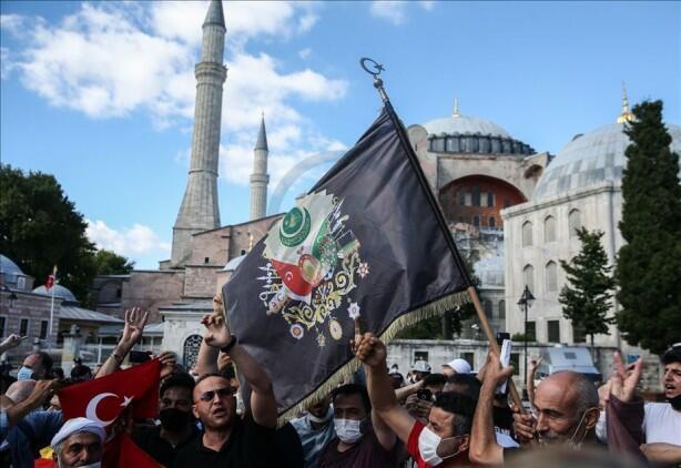 Aya Sofya qalmaqalı: Türkiyədən UNESKO-ya cavab
