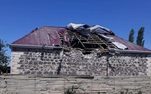 Armenians fired on these villages of Tovuz again