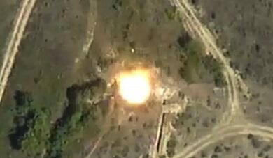 Enemy's another military facility was destroyed -