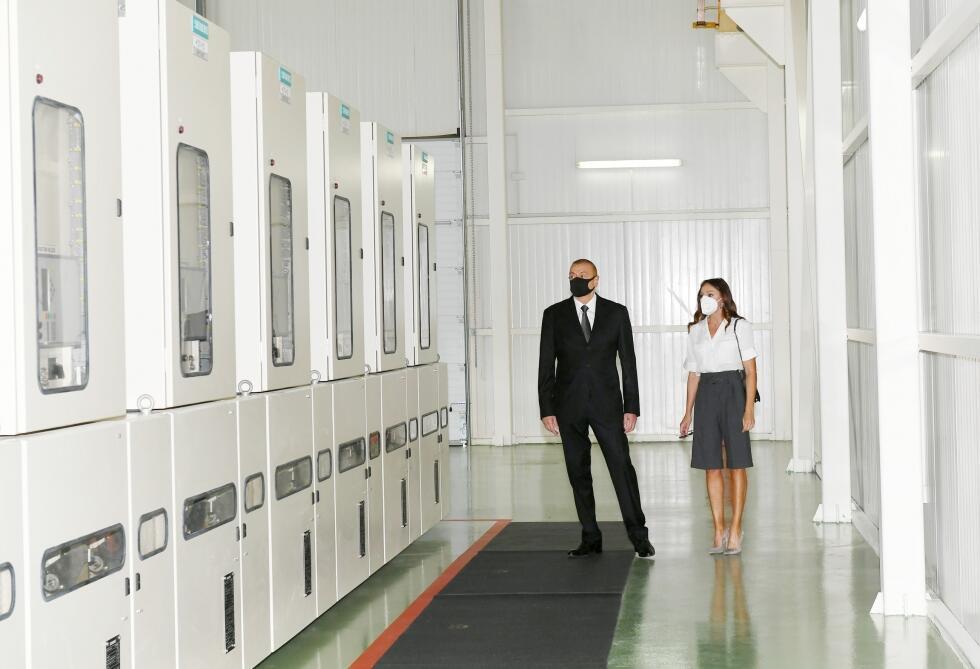 """Prezident """"Böyükşor"""" stansiyasının açılışında - Foto"""