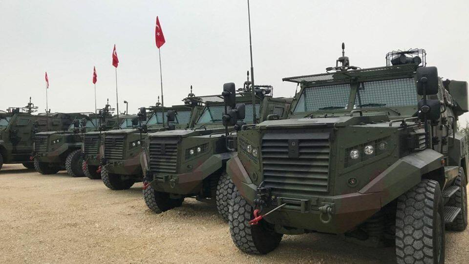 Türkiyə bu ölkəyə də zirehli texnika satdı