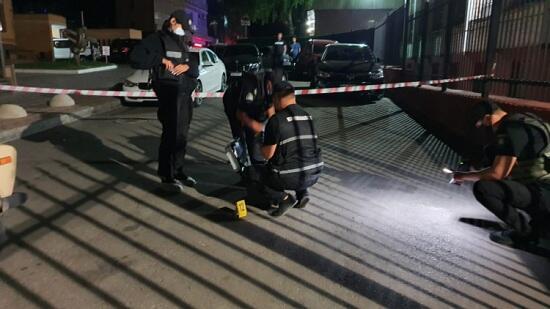 В Киеве армянин выстрелил в азербайджанцев - Видео