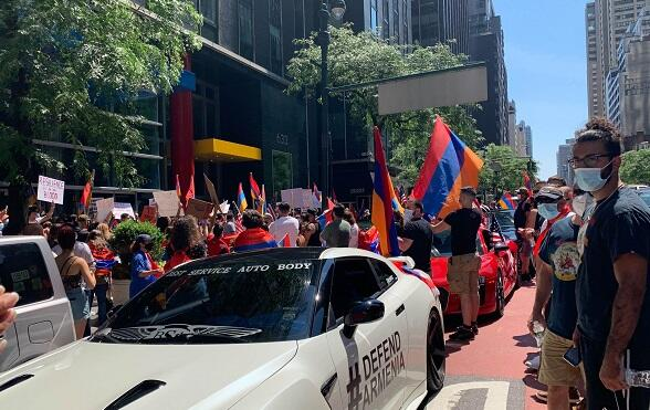 Armenian opposition has started another rally -