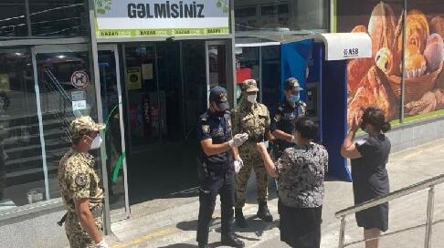Daha 72 obyektdə epidemiya əleyhinə rejim pozuldu