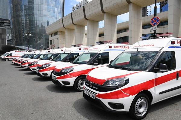 Naxçıvana 7 ambulans göndərildi