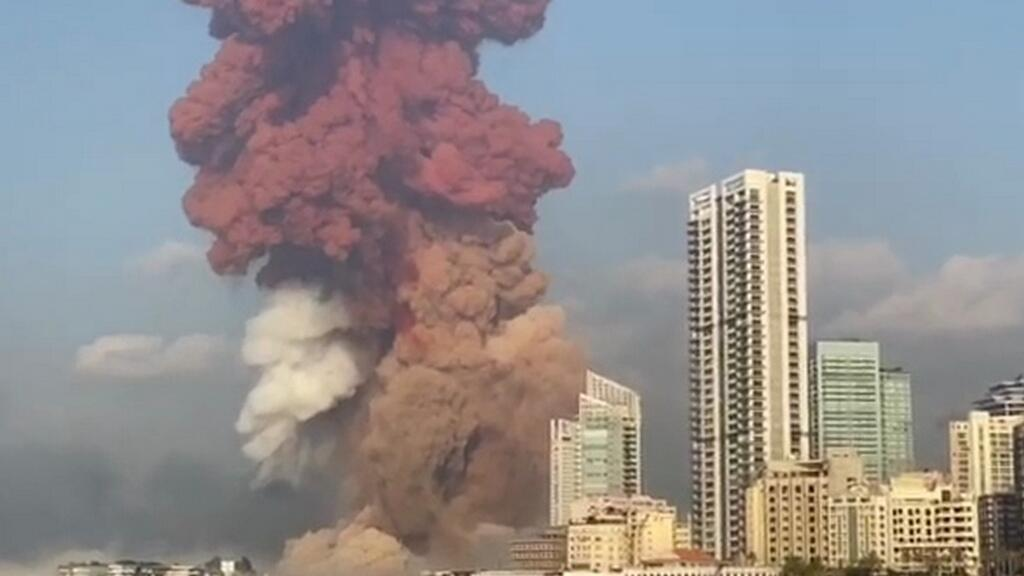 Beirut blast was filmed during the wedding -