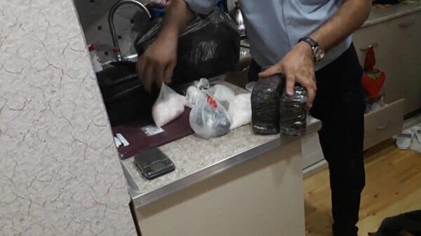 10 kq narkotik vasitə dövriyyədən çıxarıldı