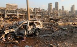 Beyrutdakı erməni səfirliyi də dağıldı