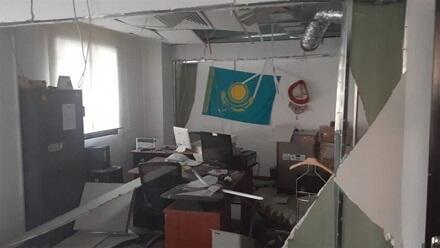 Bu türk ölkəsinin konsulu Beyrutdakı partlayışda yaralandı