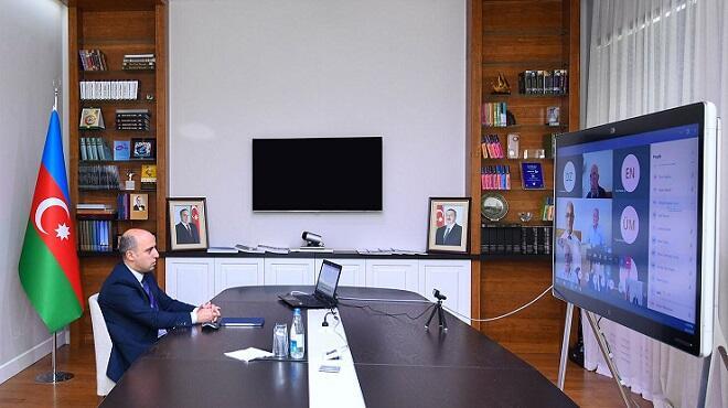 Təhsil naziri İctimai Şura üzvləri ilə videokonfrans etdi