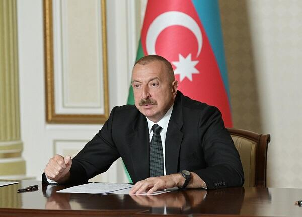 Ilham Aliyev held a meeting