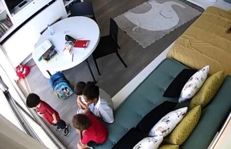 Beyrut partlayışı: dayə və uşaqlar belə xilas oldu - Video