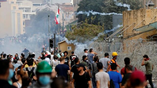 Army took control of central Beirut -