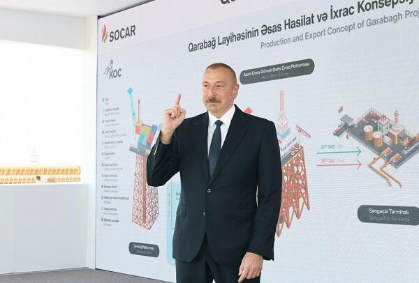 Karabakh is ours, Karabakh is Azerbaijan! - Ilham Aliyev