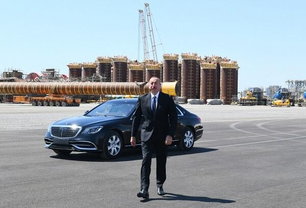 Ilham Aliyev attended an important ceremony -