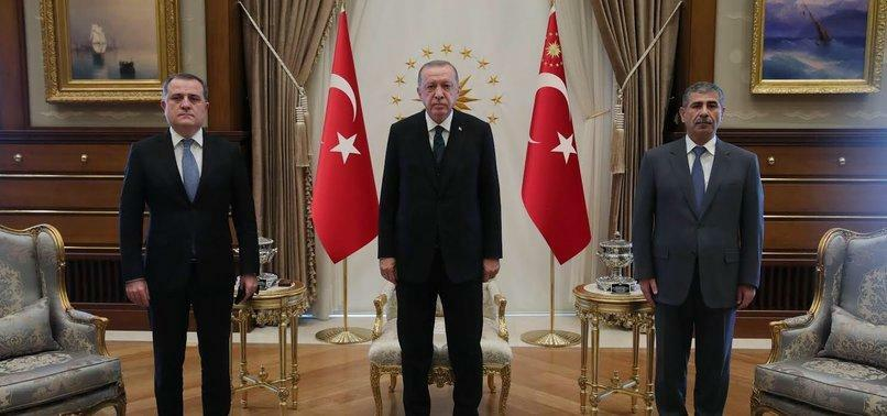 Erdogan received Bayramov and Hasanov -