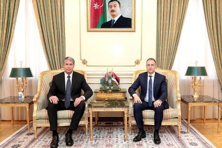 Вилаят Эйвазов встретился с главой МВД Сербии
