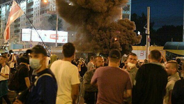 Minskdə ardıcıl 5 partlayış baş verdi