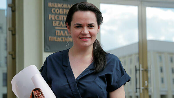Tikhanovskaya called to the US not violate the Belarus