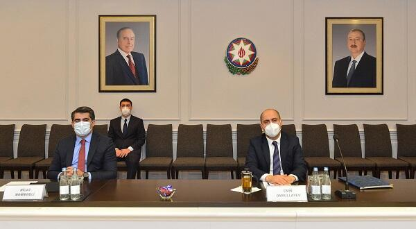 The Minister of Education met with the Turkish ambassador