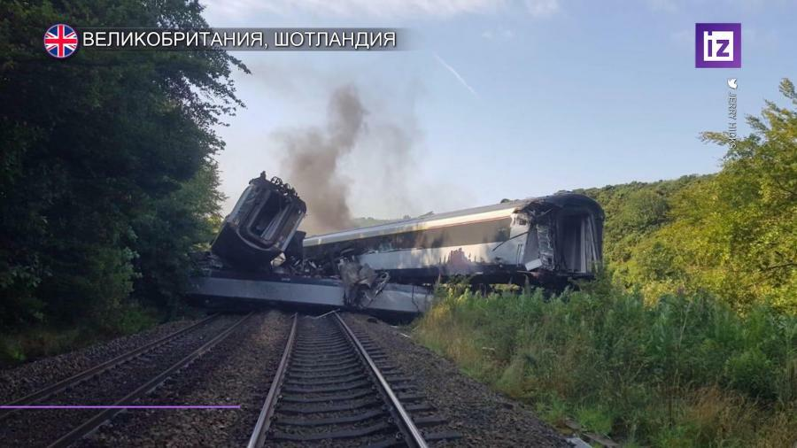 The train derailed in Scotland: there are dead -
