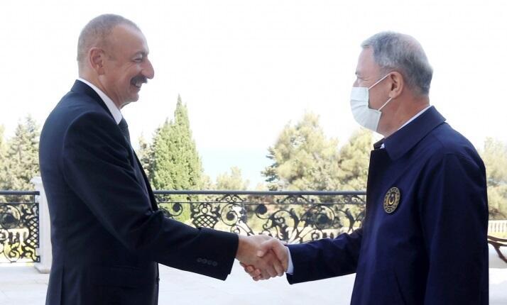 Akar Prezidentlə görüşdə Tovuz təxribatından danışdı