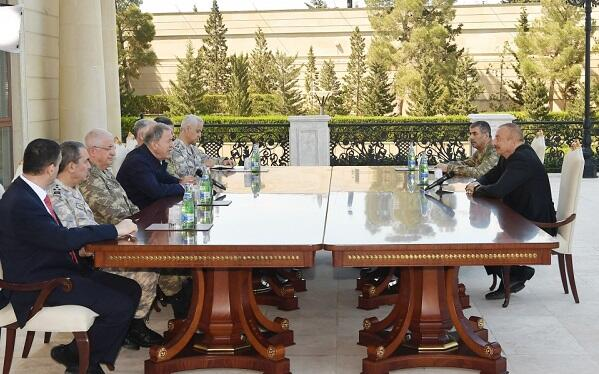 Ilham Aliyev received Turkish delegation -