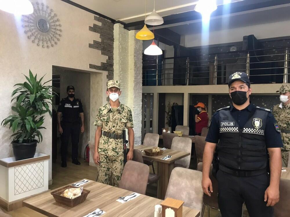 Polis Astarada maska taxmayanlara qarşı reyd keçirdi