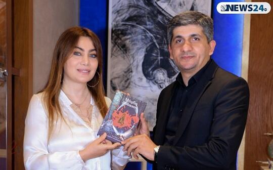 "Ruhi Əliyeva ""-4"" romanından danışdı - Video"