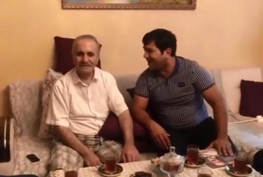 Oğlunu itirən xalq artistinin görüntüsü şok etdi - Video