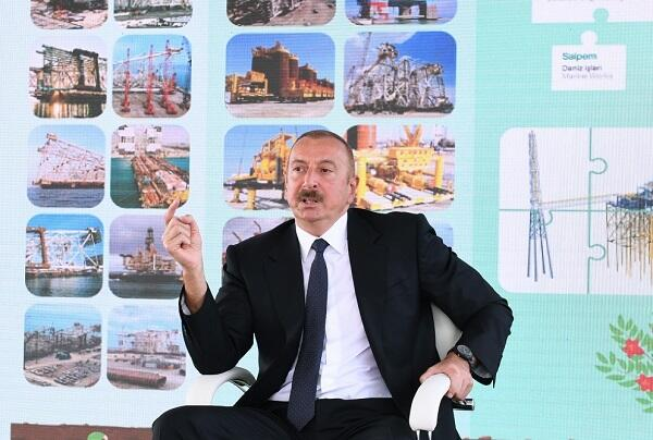 Who are you to talk to us on condition?! - Ilham Aliyev