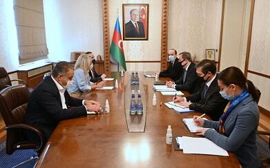 Jeyhun Bayramov met with the Portuguese ambassador -
