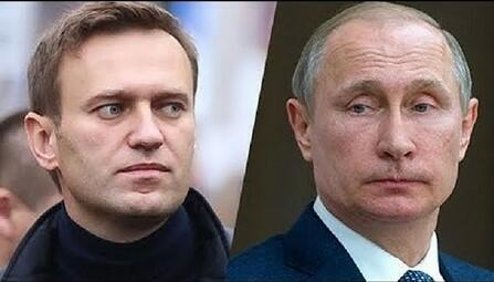 Putin is not scared of Alexei Navalny, says Kremlin