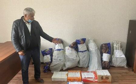 Abşeron sakinindən 16 kq narkotik götürüldü
